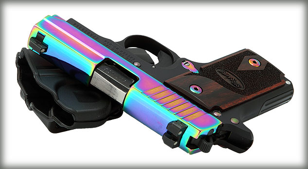"Sig Sauer P238 ""Rainbow"" .380 ACP"