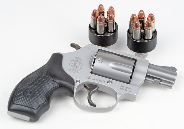 Smith & Wesson 637 .38 SPL+P