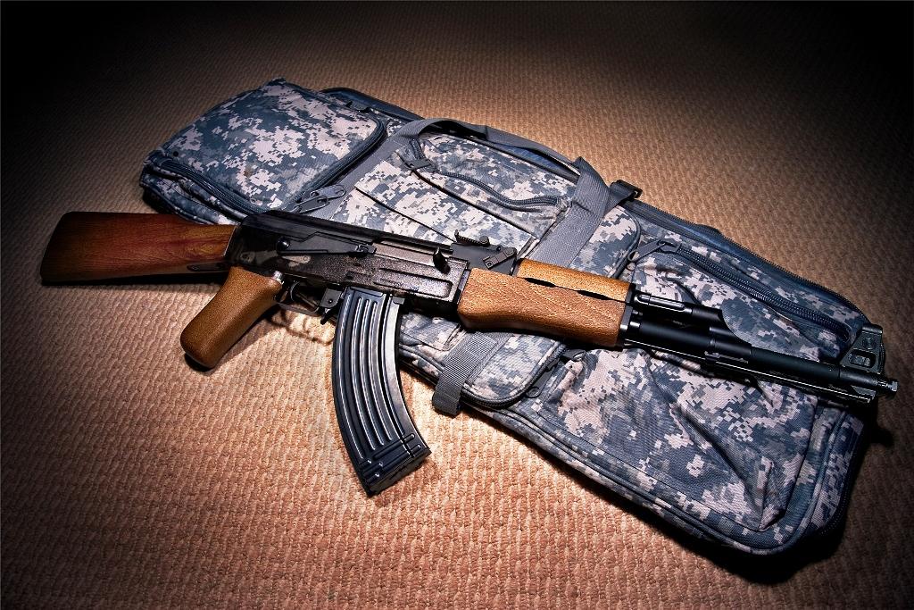 Example of a Kalashnikov-patterned Firearm (AK-47)