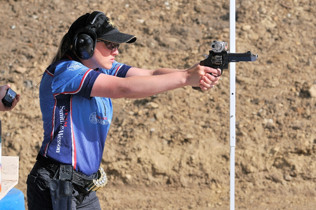 Julie Golob, sponsored Smith & Wesson shooter