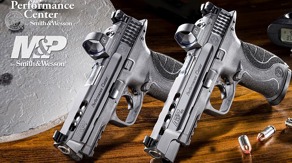 Smith & Wesson M&P Performance Center Ported 9mm & .40 S&W