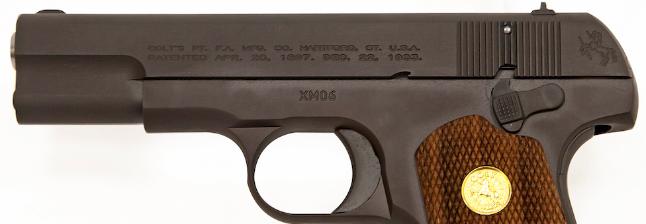 Colt Model 1903 .32 ACP (Credit: U.S. Armament Corp - LinkedIn)